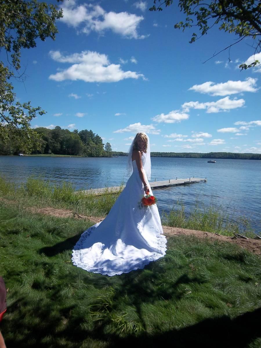 Lake harmony wedding