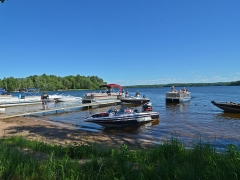 docking on lake namakagon