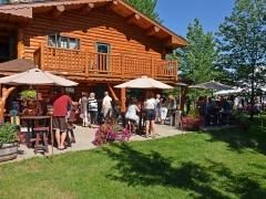 main lodge patio seating