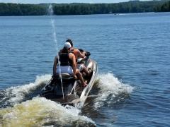 full recreational lake