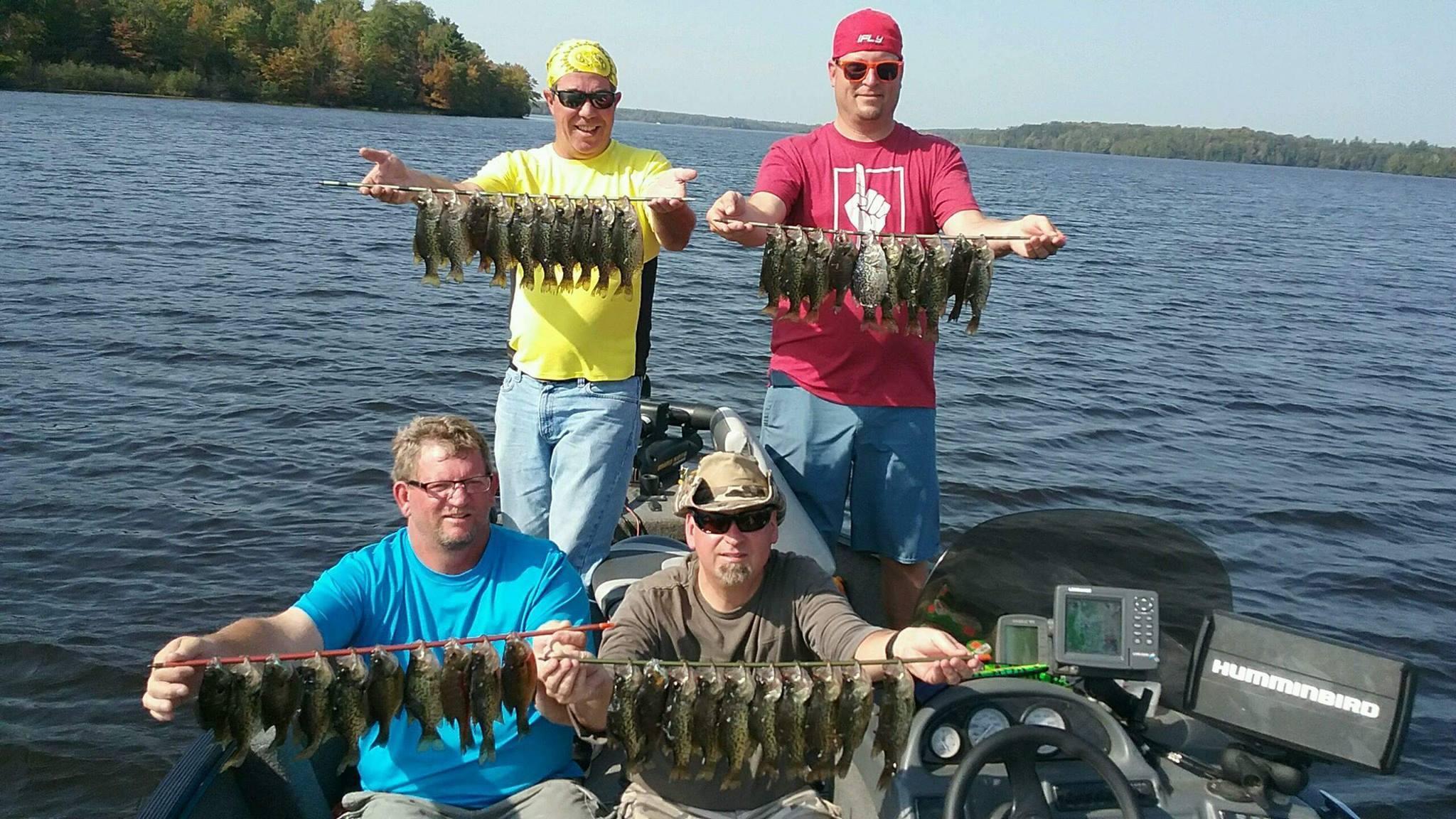 Lake Namakagon Crappie Fishing