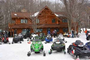 Cable, WI Trailside Snowmobile Lodging