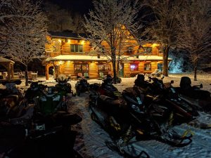 Lodging on Cable WI Snowmobile Trails