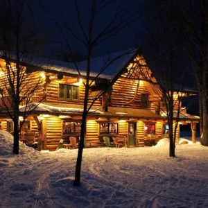 Northern Wisconsin Winter Vacation Lodge